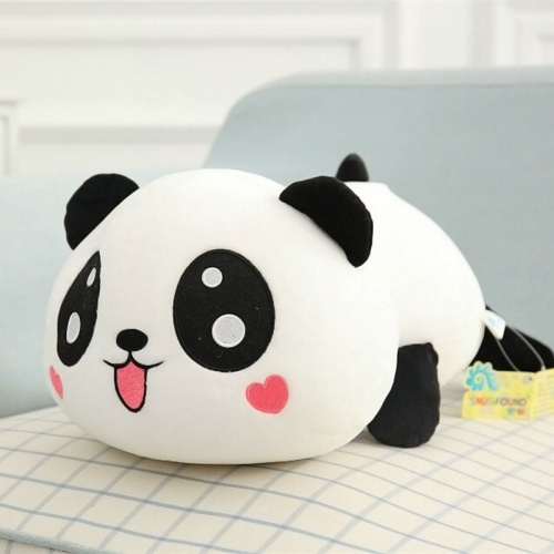"8"" cute plush doll toy stuffed animal panda pillow quality bolster 20cm  9096599438554 